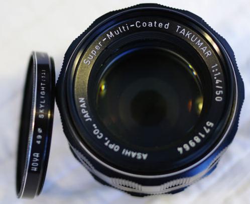 Bargain! Pentax SMC Takumar 50mm f1.4